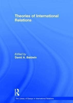 International Relations Theory Essay - Research Paper